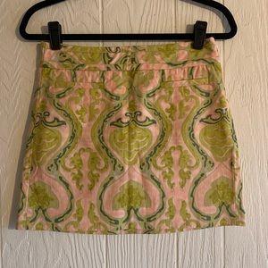 J.Crew Printed Skirt